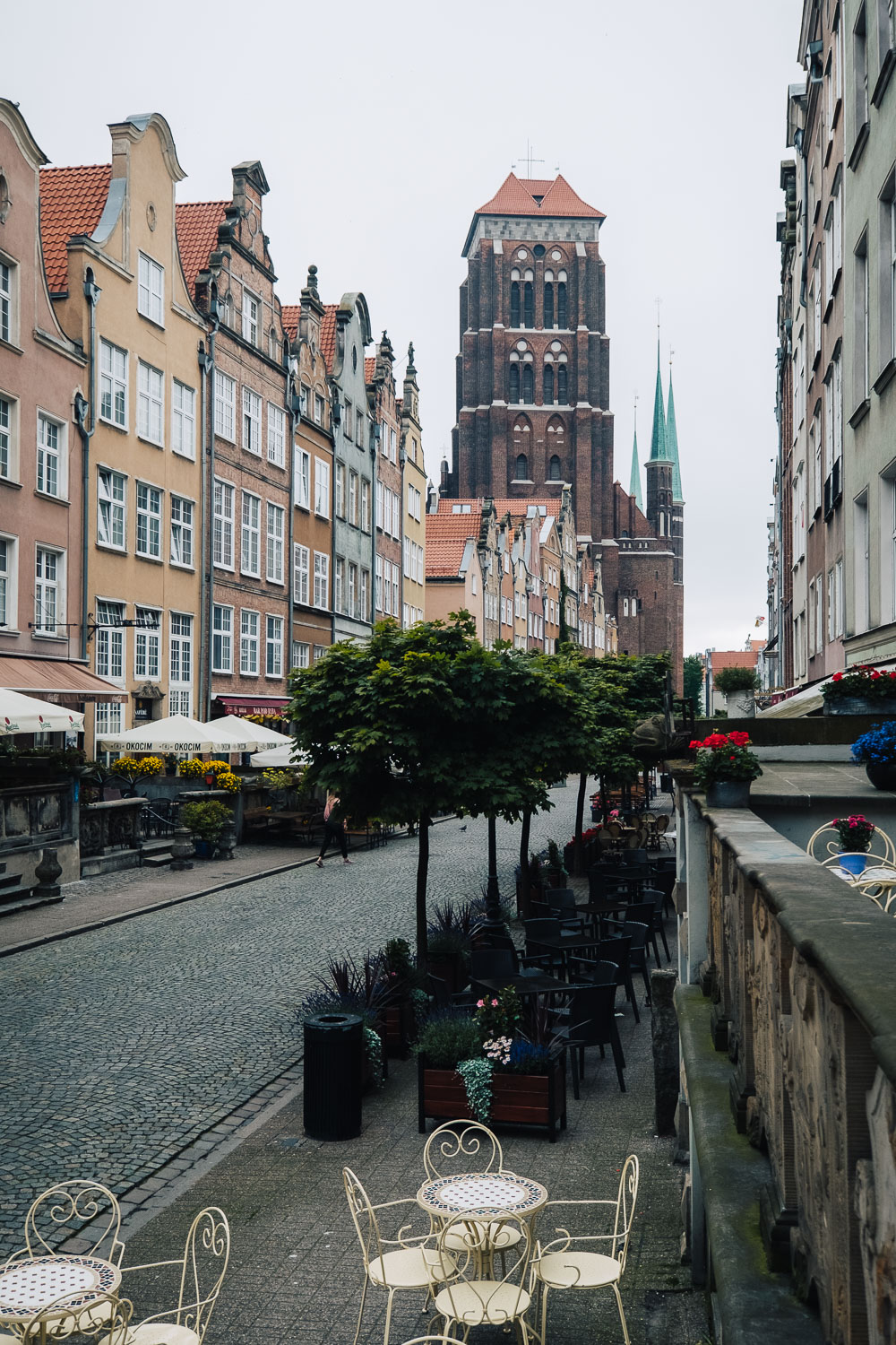 Ulica Piwna (Beer Street) in Gdanks | Things to do in 48 hours in Gdansk, Poland