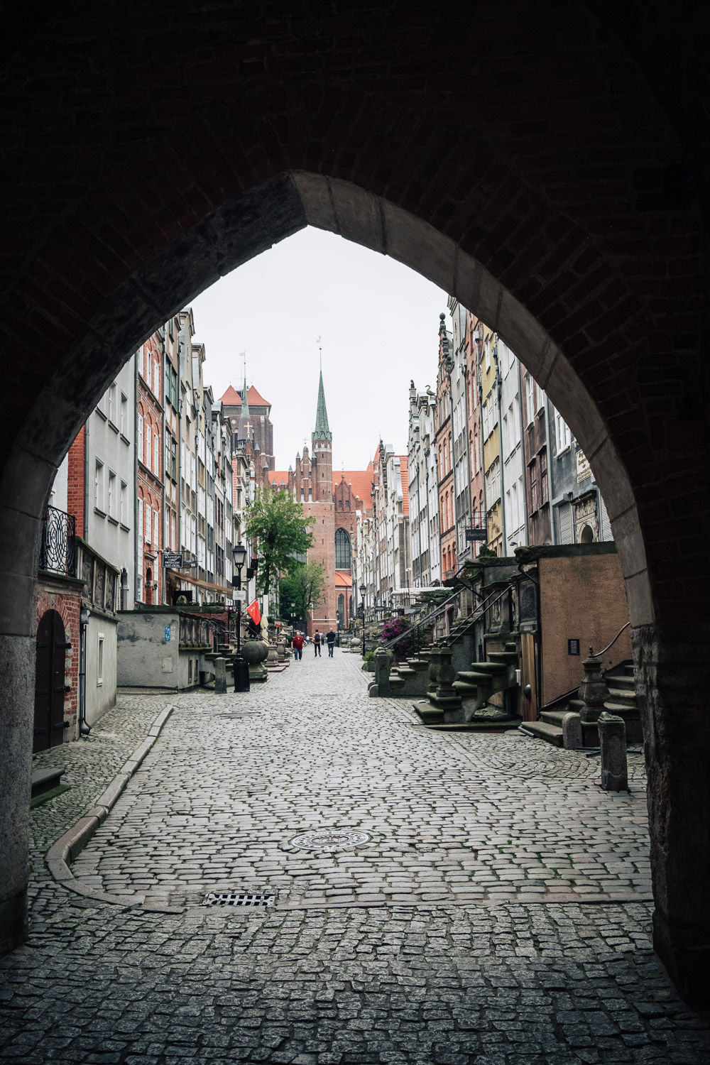 Ulica Mariacka (Amber Street). Gdansk is know around the world as the capital of amber.
