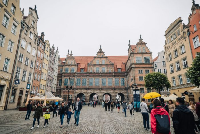 The Long Market street in the main town of Gdansk | Things to do in Gdansk: 48 Hours in the City | #mondomulia