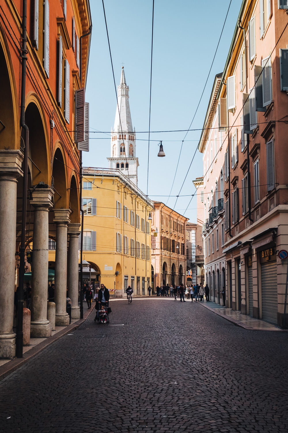 The historical city centre of Modena | Six Beautiful Towns you Must Visit in Emilia Romagna | Mondomulia