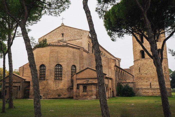 Basilica of Sant'Apollinarein Classe | Six Beautiful Towns you Must Visit in Emilia Romagna | Mondomulia
