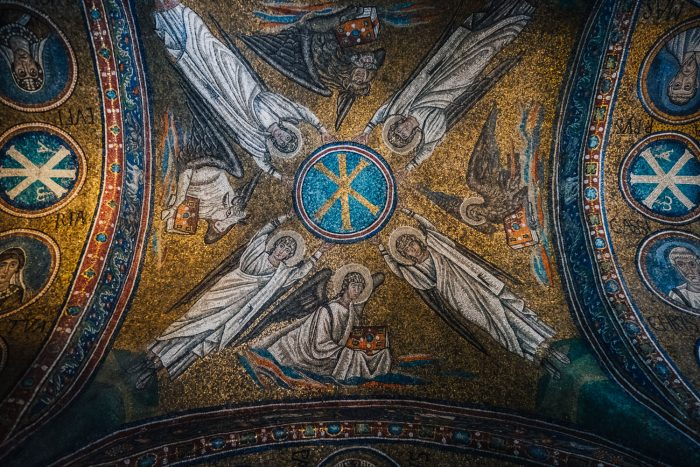 Mosaics in the Archiepiscopal Chapel of Saint Andrew, Ravenna | Six Beautiful Towns you Must Visit in Emilia Romagna | Mondomulia