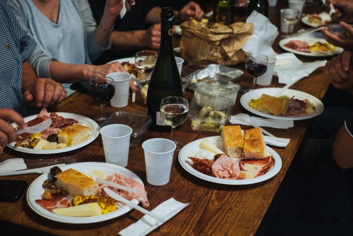Bologna's food specialities and wine at Osteria del Sole wine bar   Six Beautiful Places you Must Visit in Emilia Romagna   Mondomulia
