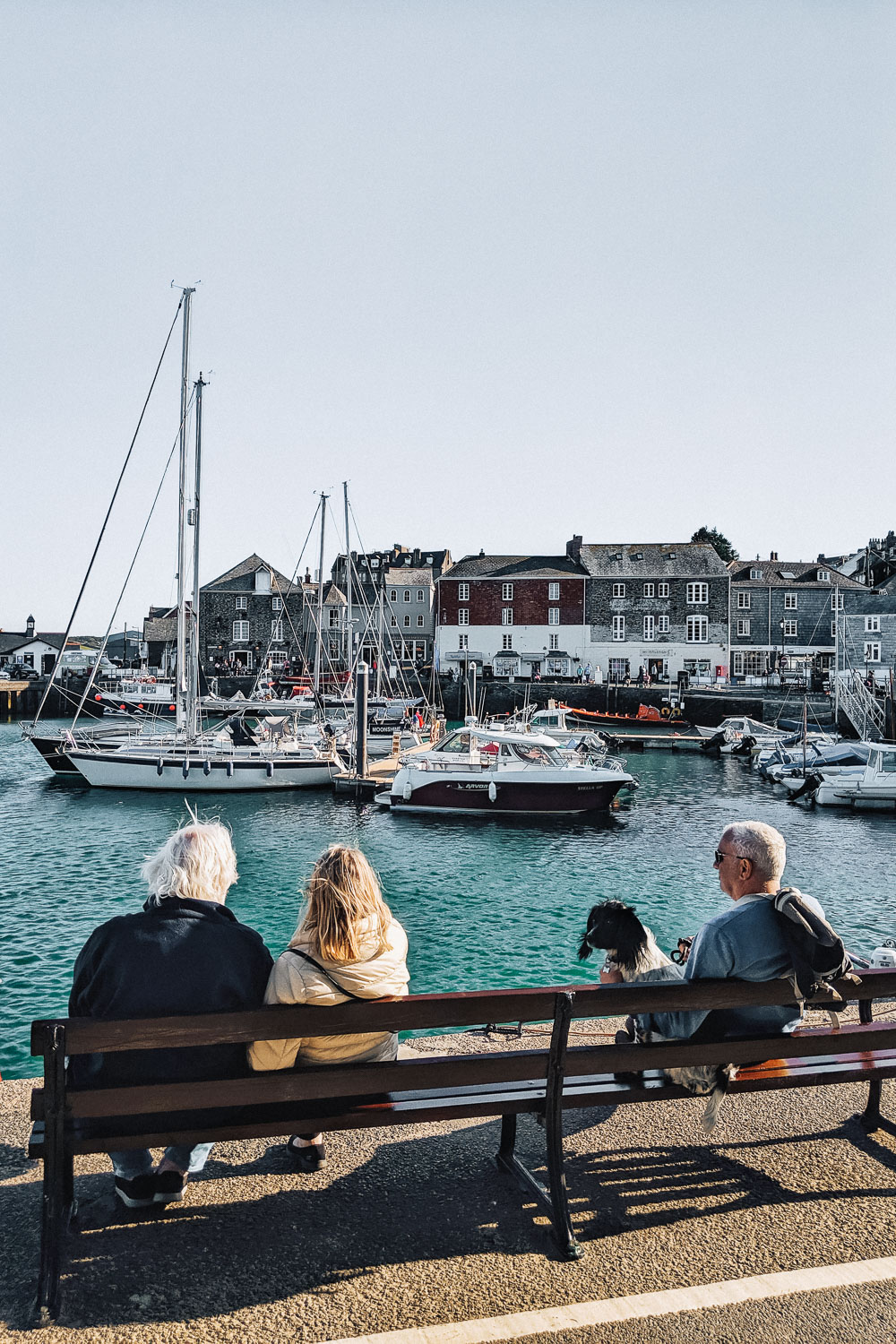 The harbour in Padstow, North Cornwall, United Kingdom