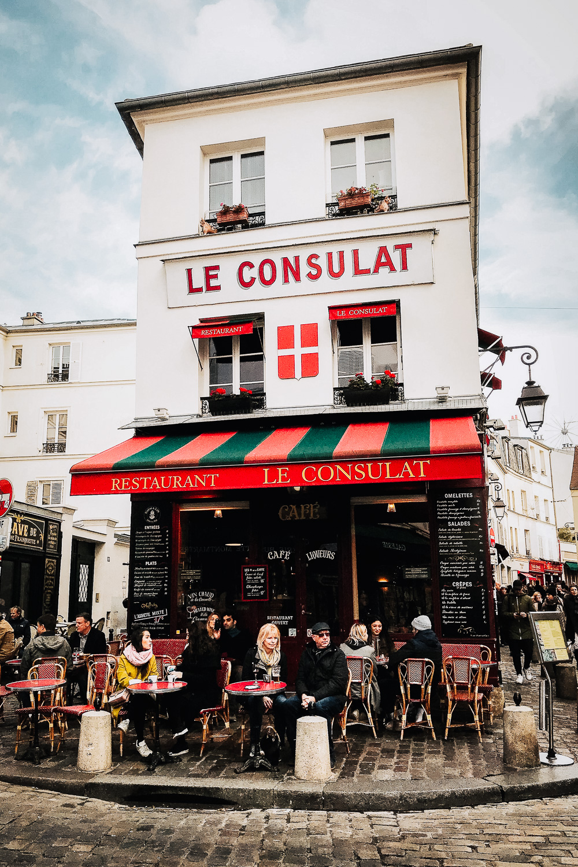 Le Consulat bistrot in Montmartre, Paris