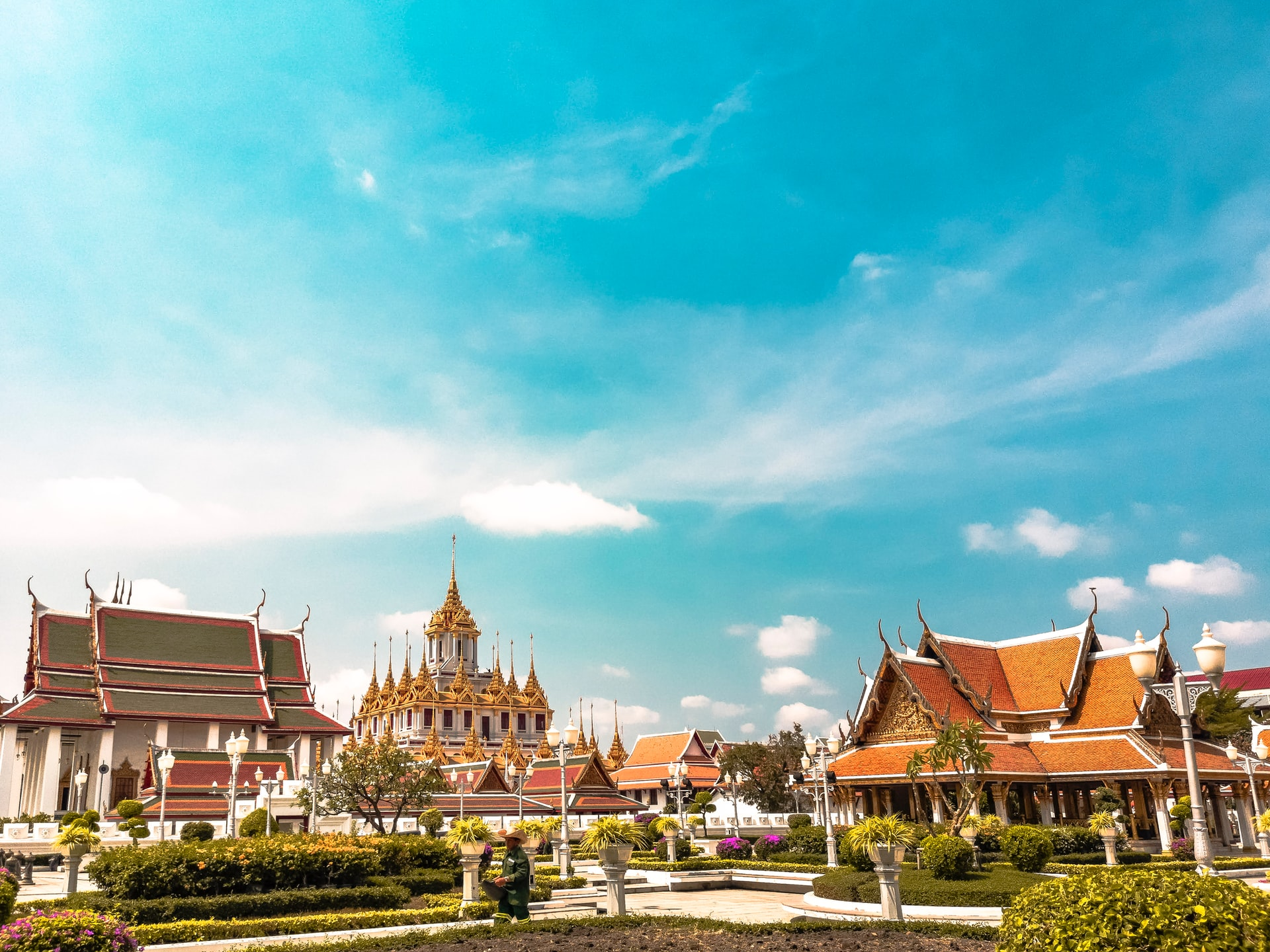 Loha Prasat Temple in Bangkok