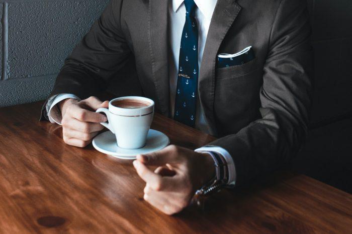 Corporate gift ideas like ties, tie bars, custom designed mugs, watches