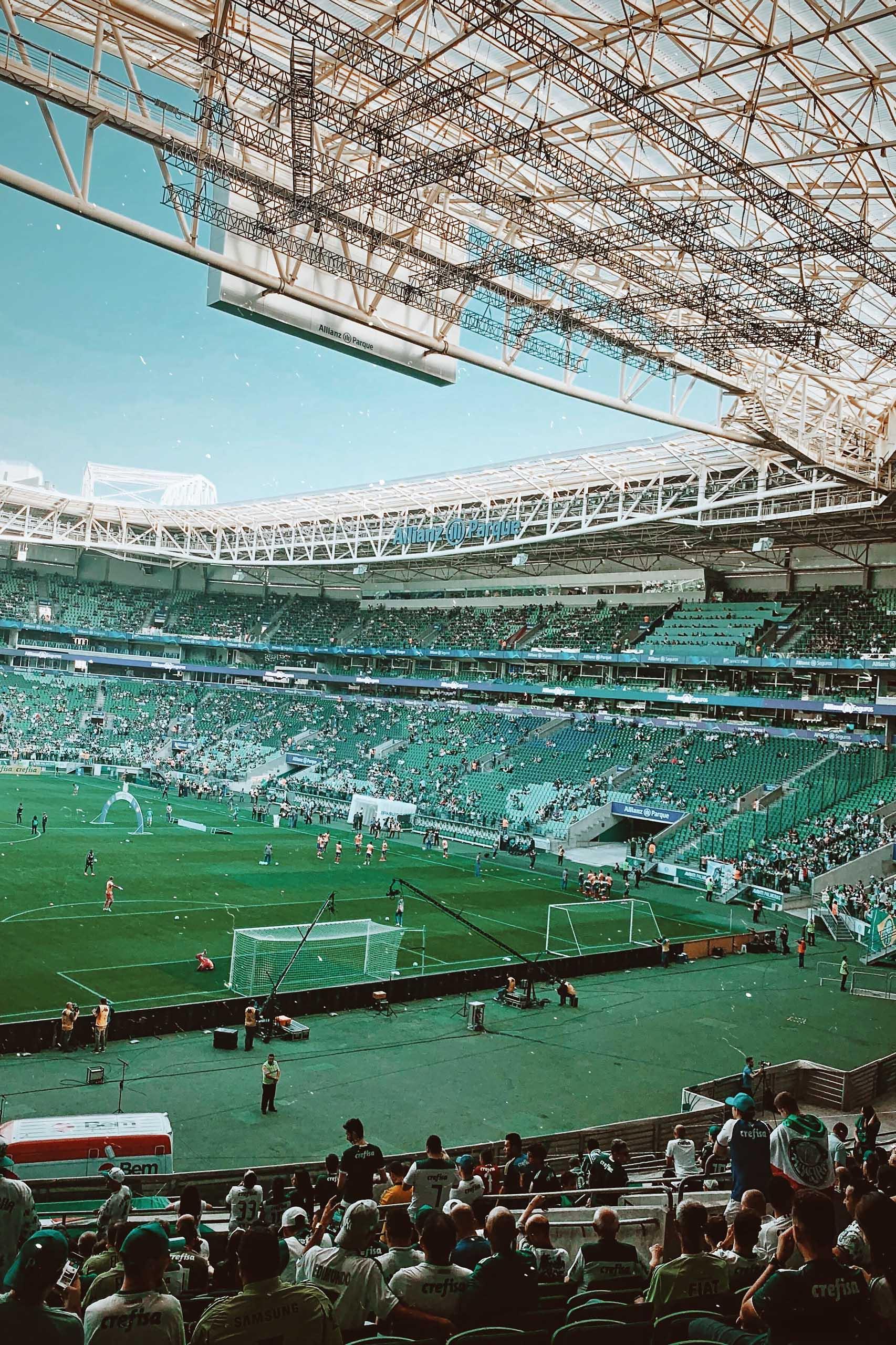 Allianz Parque Stadium in São Paulo, Brazil
