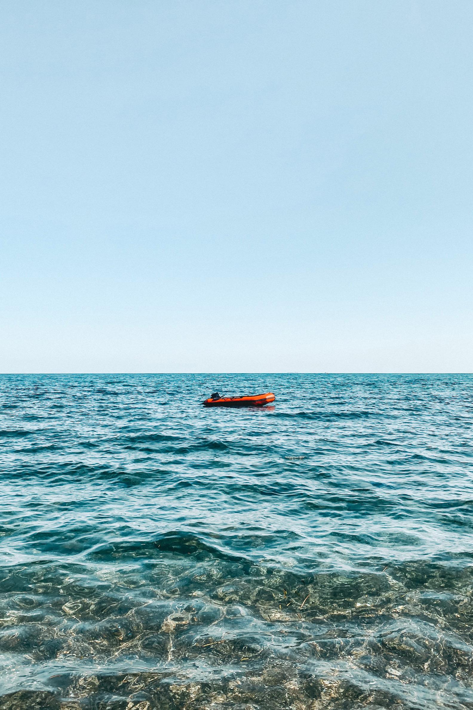 Crystal clear waters in Murcia, Spain