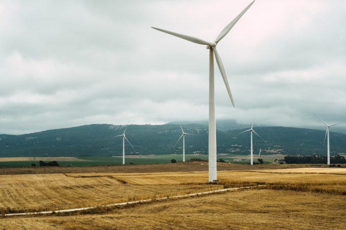 Wind is a source of a renewable, sustainable energy