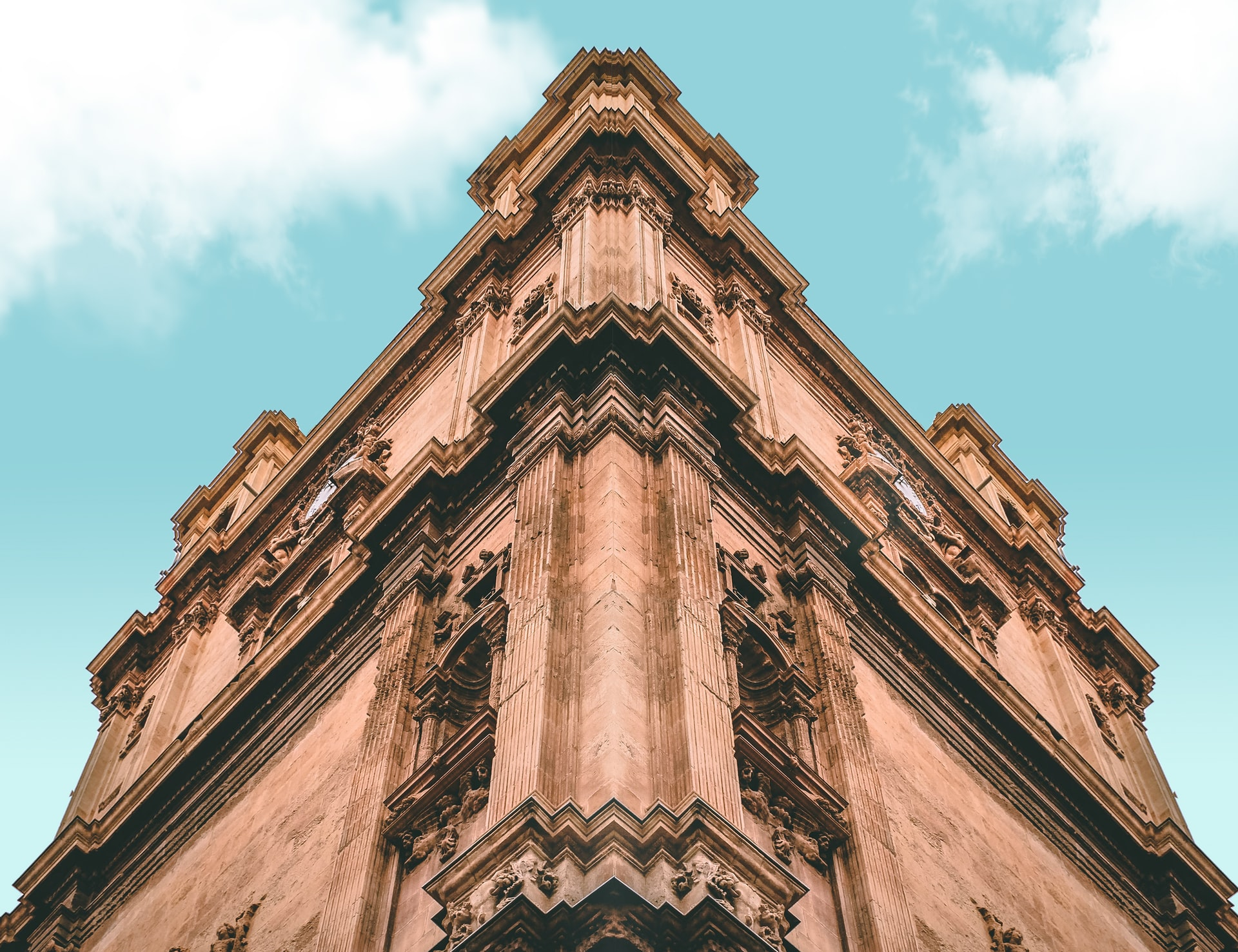 The Cathedral of Murcia, Spain