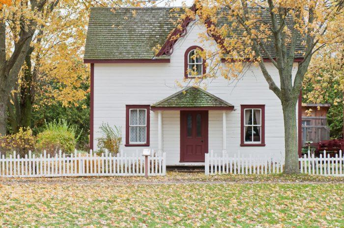 House in Fanshawe Pioneer Village, London, Canada