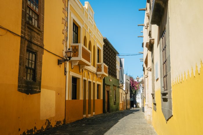 Las Palmas, the capital city of Gran Canaria (Canary Islands, Spain)