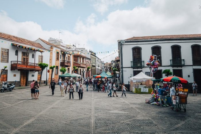A small town in the northern region of Gran Canaria