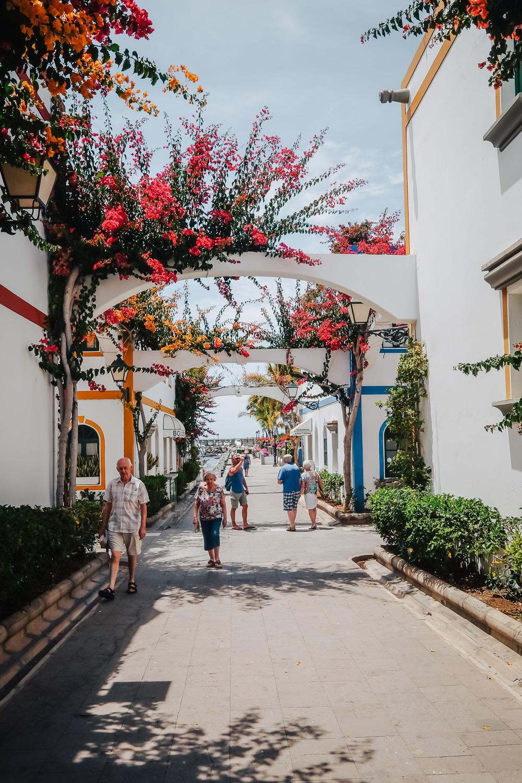 The charming village of Puerto de Mogan in Gran Canaria, Canary Islands
