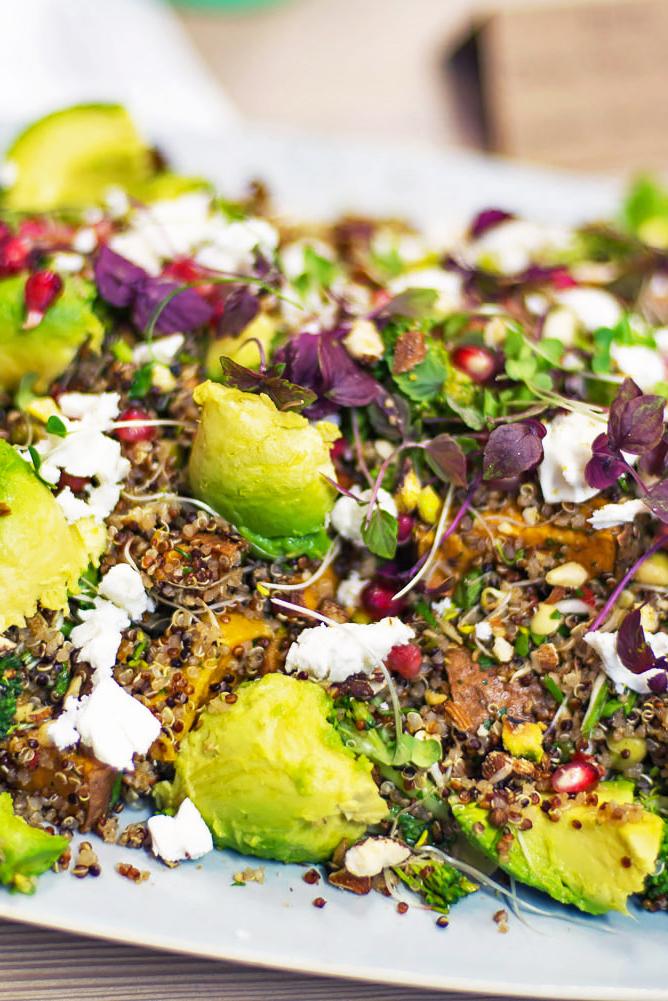 Jamie Oliver summer superfood quinoa salad