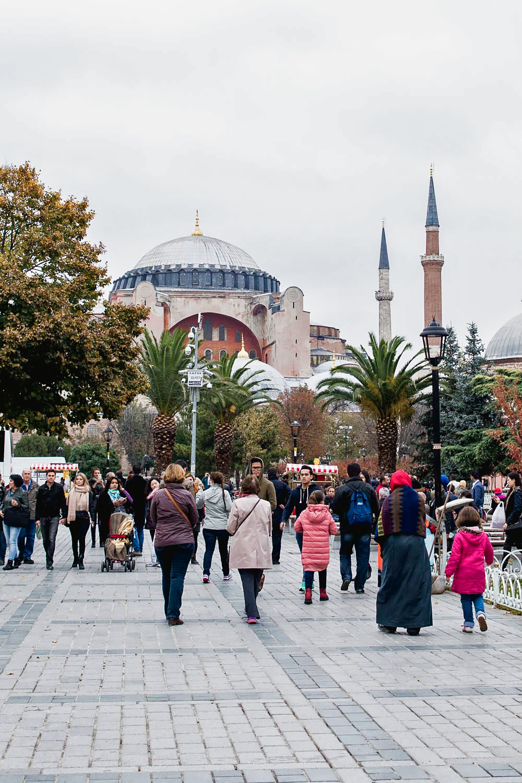 Hagia Sophia mosque - Sultanahmet, Istanbul, Turkey
