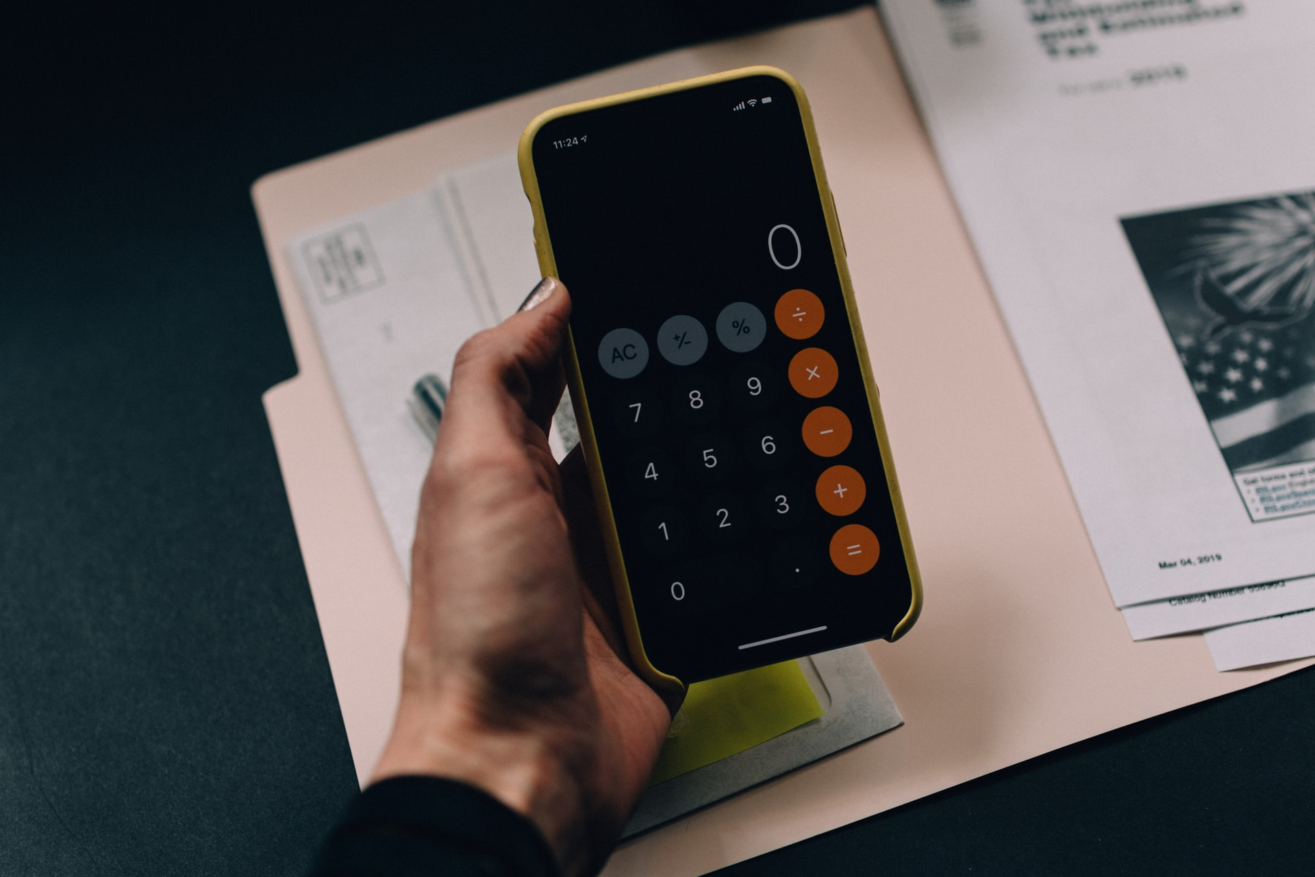 Calculator zero. Living on a budget
