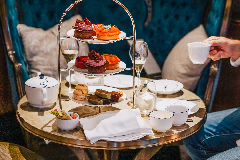 Bouquet de La Reine: Afternoon Tea with a twist at The Parlour, Great Scotland Yard Hotel, London