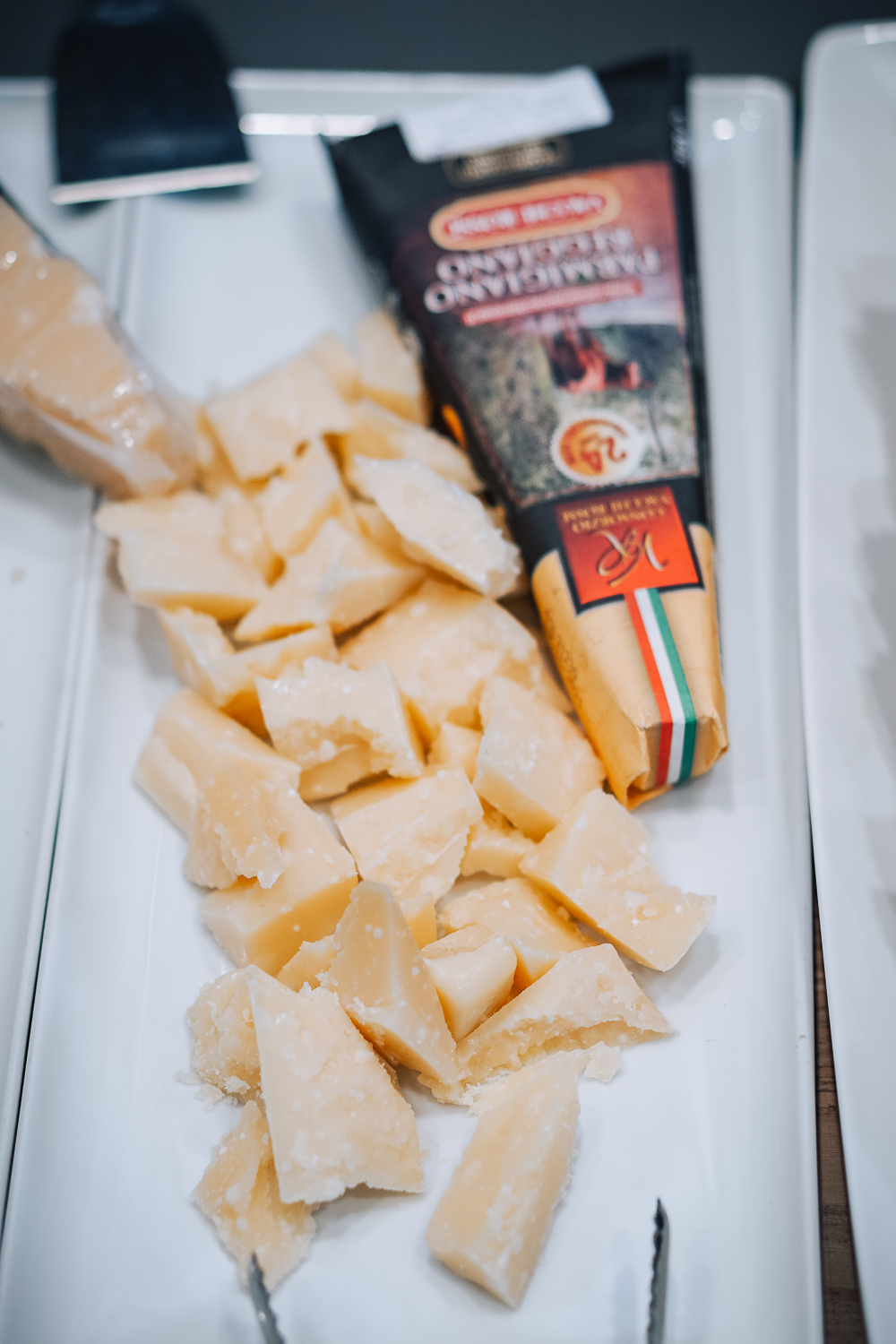 Parmigiano Reggiano, Italian cooking class at Eataly in London