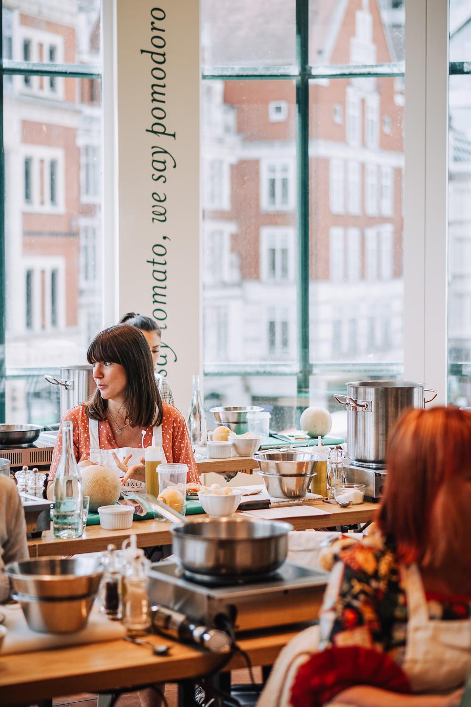True Italian Taste cooking masterclass at Eataly in London