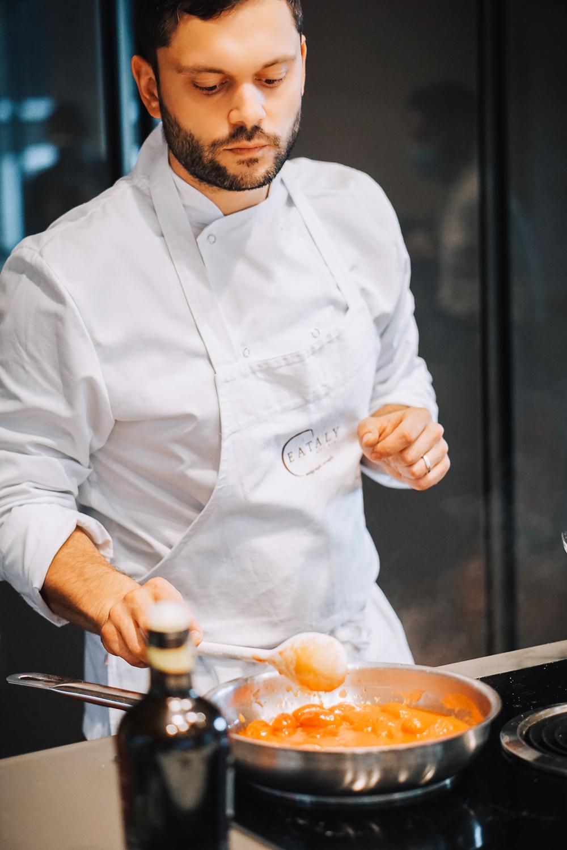 True Italian Taste cooking masterclass at Eataly in London, England
