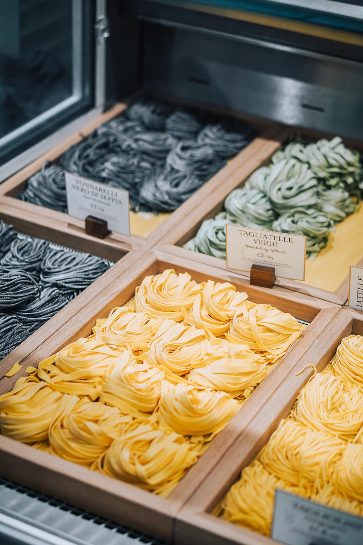 Fresh homemade pasta - True Italian Taste cooking masterclass at Eataly in London