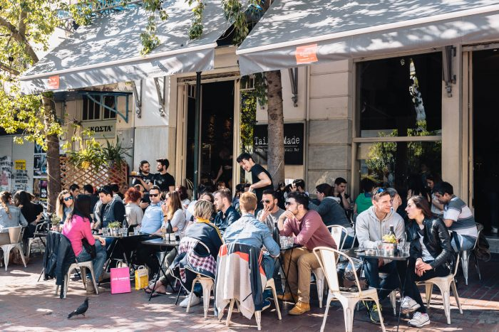 Coffee culture in Athens, Greece