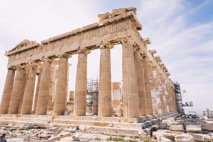 The Parthenon in the Acropolis, Athens, Greece