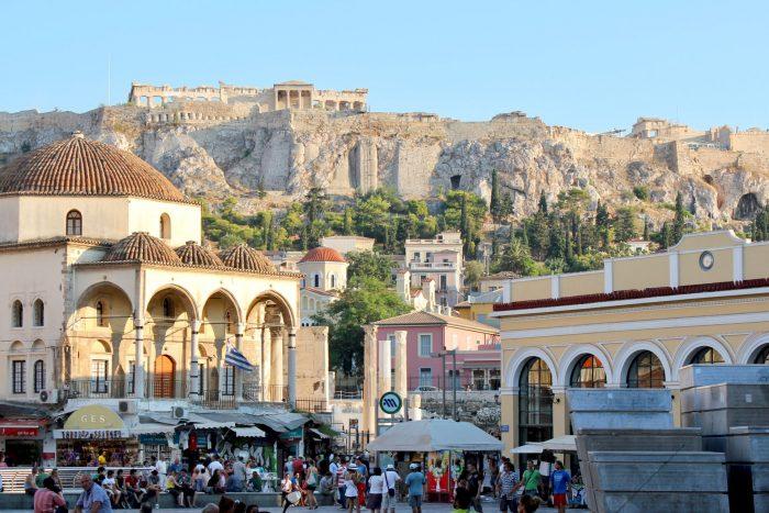 Monastiraki, Athens Greece
